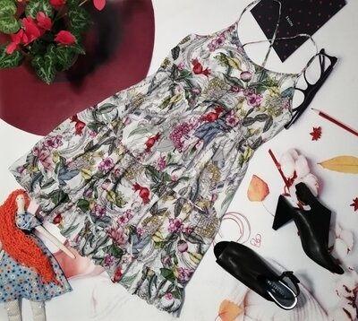 Платье 16 размер h&m zara ostin
