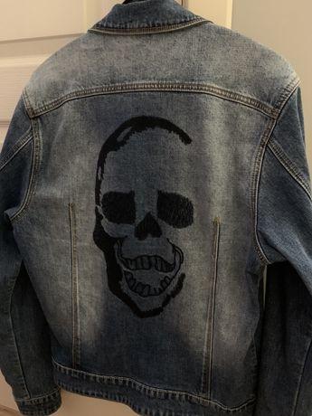 Джинсовка/джинсовый пиджак