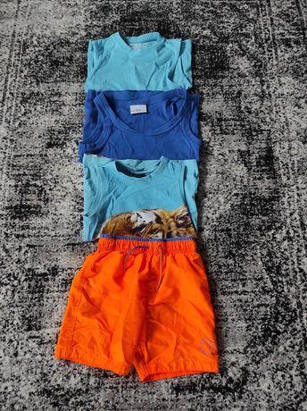 Zestaw ubrań na lato (szorty, koszulki)