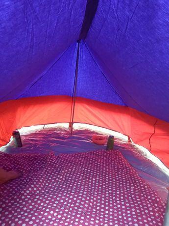 Продам палатку брезентову