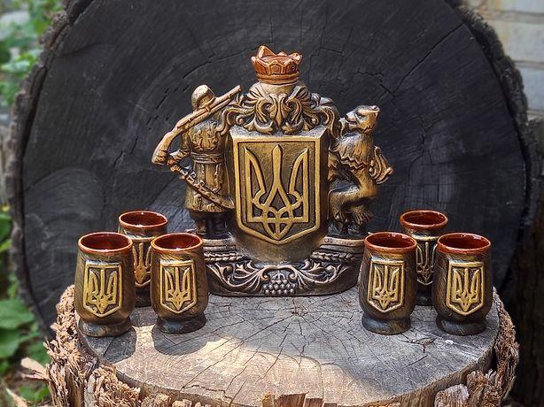 Подарочный набор Герб Украины, крутой подарок для мужчины и женщины
