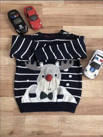 Новогодний свитер , свитшот C&A, zara