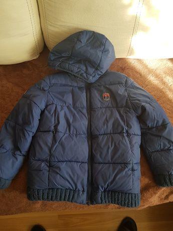 Kurtka  zimowa 122 dla chłopca