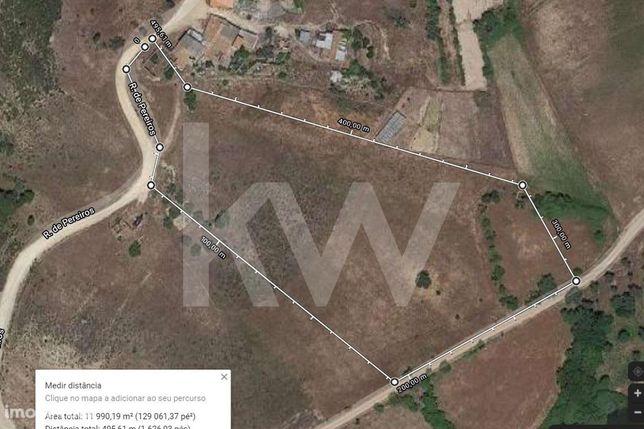 Terreno Misto Com 11.860 M2, Com Ruina/Moradia Em Pereiros, São Marcos