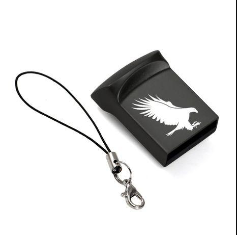 USB флешка 64 GB.Jaster. С кольцом. Металл