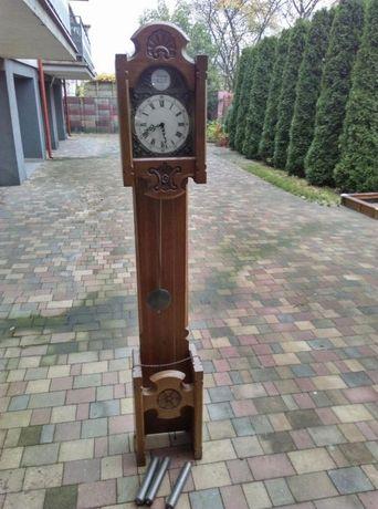 Zegar stojący tempus dąb