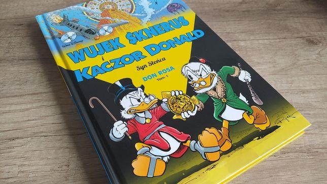 Komiks Wujek Sknerus i Kaczor Donald Syn Słońca Tom 1