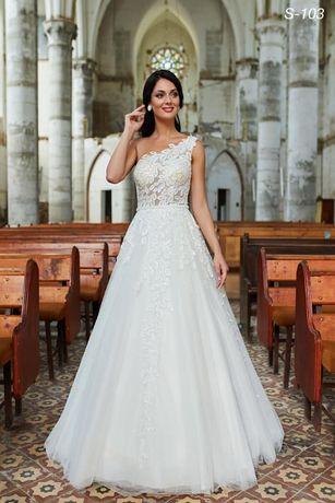 Suknia ślubna nowa kolekcja 2020 szycie na miarę