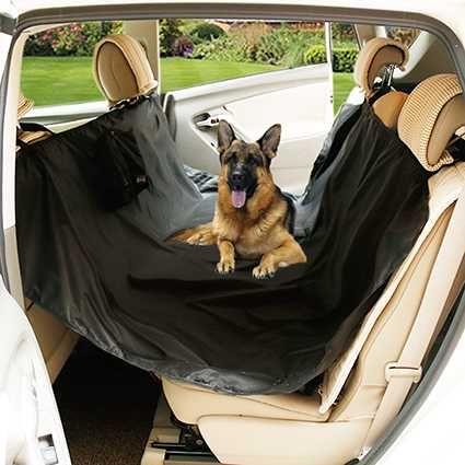 Capa protecção para banco carro, contra pelos e sujidade - cão
