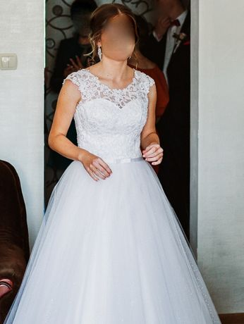 Suknia Ślubna - FASSON Dorota Wróbel - Delfina Łuski Model 2020 r.