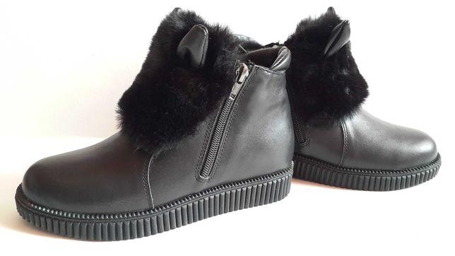 Зимние ботиночки, ботинки, кроссовки на девочку, р. 33 (21,3 см) новые