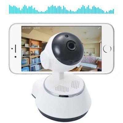 ip camera wifi камера видеонаблюдения панорамная v380 q6 360 wifi