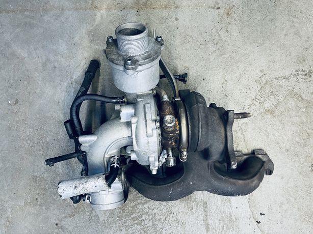 Turbina z kolektorem wydechowym Audi A4 B8 2.0 TFSI 2009r