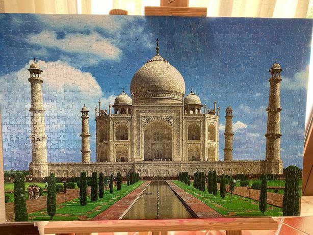 Puzzle 1000 peças Taj Mahal