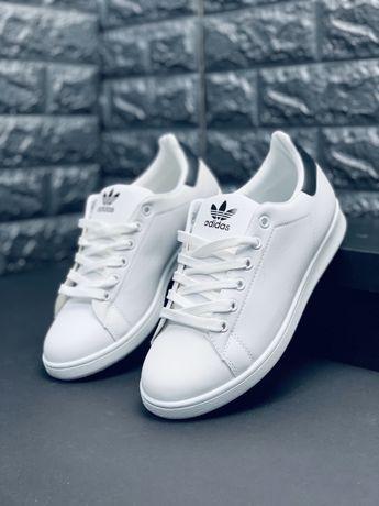 Белоснежные Adidas Stan Smith кроссовки адидас туфли кросовки адідас