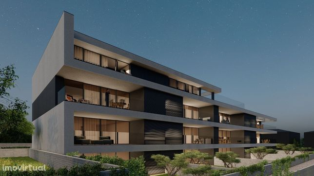 Apartamento T2 em planta, Edifício Gold, Amares