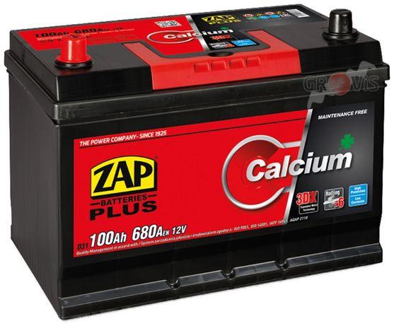 Akumulator 12V 100Ah 680A L+ CalciumPlus ZAP SZNAJDER Japan Dostawa 95