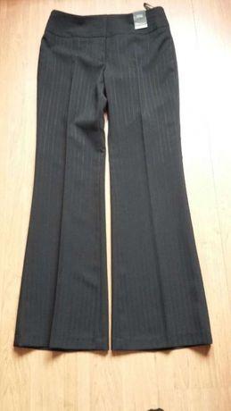 czarne eleganckie spodnie rozm 38 nowe