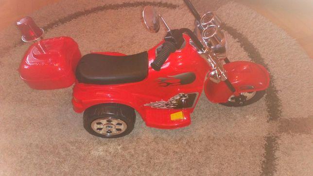 Motorek chopper na akumulator Nowy