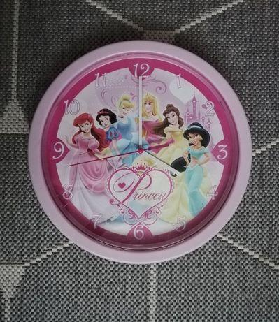 Zegar zegarek ścienny na ścianę Księżniczki Disney