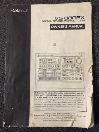 Інструкція Roland vs-880ex