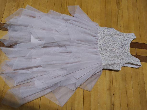 Бомбезне плаття, сукня, платье нарядное, фирма H&M, девочка, гипюр