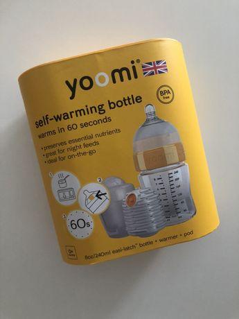 YOOMI Zestaw do karmienia Butelka antykolkowa 240ml + Podgrzewacz