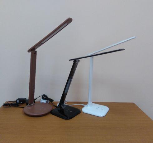 Детская настольная лампа для школьника светодиодная сенсорная