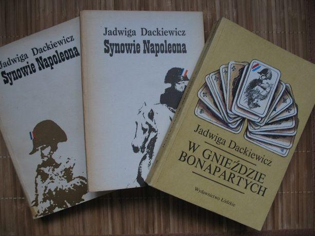 Jadwiga Dackiewicz, W gnieździe Bonapartych oraz Synowie Napoleona