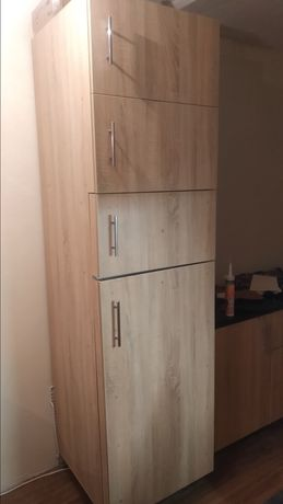 Холодильник двухкамерный, Дуб сонома 220 см