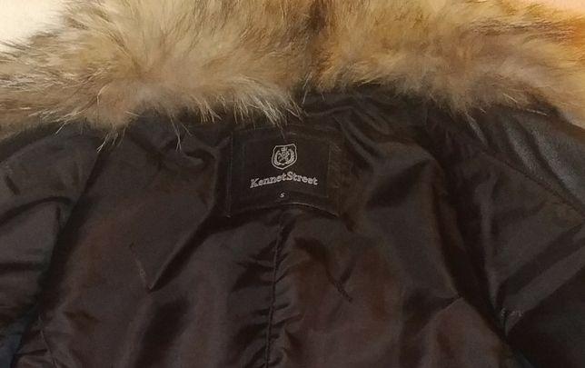 Продам шкіряну куртку, б/у в хорошому стані, розмір S