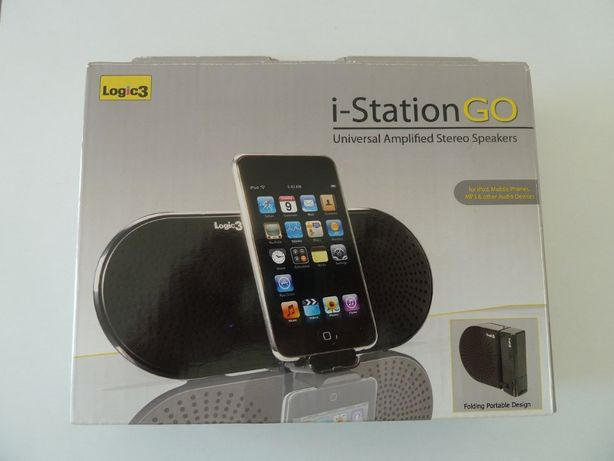 Mini coluna portátil universal i-StationGo Logic 3