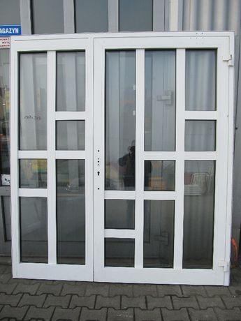Drzwi aluminiowe zewnętrzne 189x214