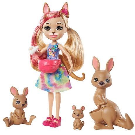 Enchantimals кенгуру лялька кукла семья