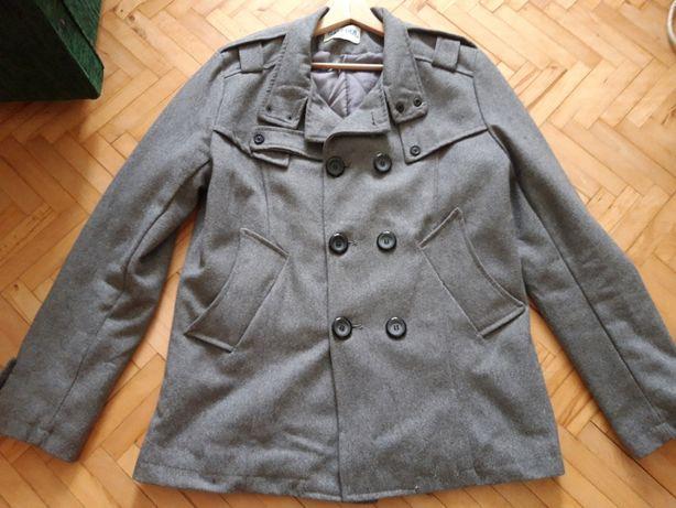 Płaszcz szary Ganeder rozmiar M