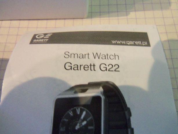 SMARTWATCH GARETT G22, urwany pasek.
