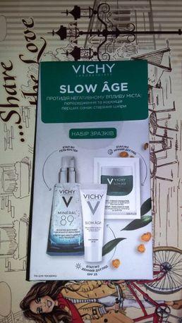 Набор пробников для кожи лица Vichy Slow age - против старения кожи