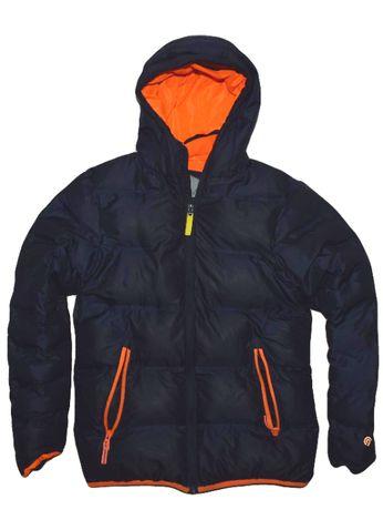 Champion 12-14 lat gruba ciepła pikowana kurtka na zimę