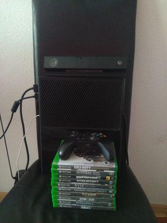 Xbox one 500gb + геймпад + кінект + ігри