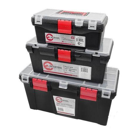 Набор ящиков (матрешка) для инструментов, 3 шт INTERTOOL BX-0003