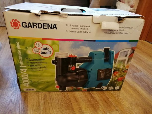 Насос напорный Gardena 4000/4i electronic plus