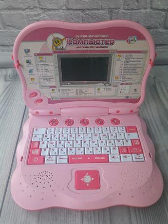Компьютер детский обучающий ноутбук