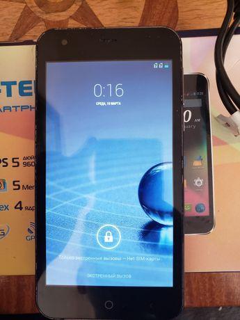 Смартфон телефон сенсор Stell c550 Dual sim не Sony Samsung LG