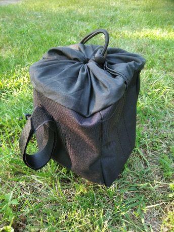 Bikepacking torba mocowana na lemondke szyta na zamowienie