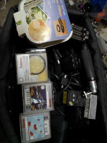 Universum kamera VHS z osprzetem