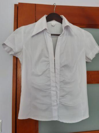 Bluzka biala  rozmiar S