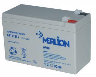 Акумулятор Merlion gp1272f2 7А