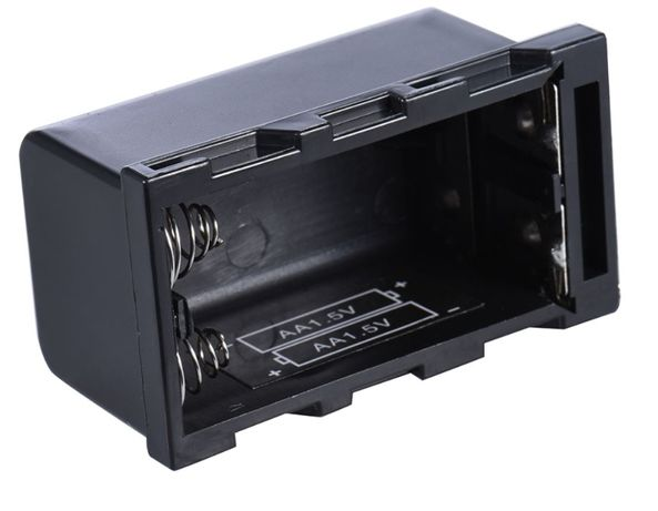 Батарейный блок,чехол.NP-F750 под 4 шт. AA