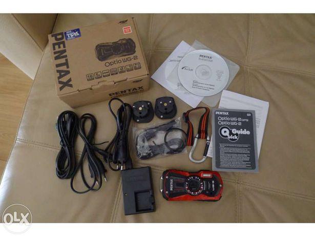 Máquina fotográfica compacta Pentax optio wg-2 como nova