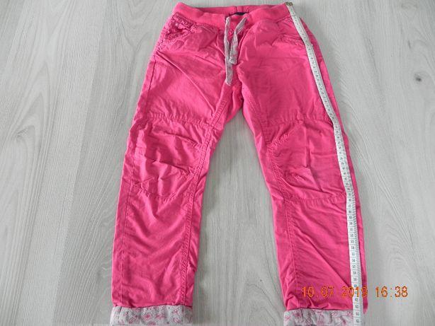spodnie ocieplane różowe cool club 116